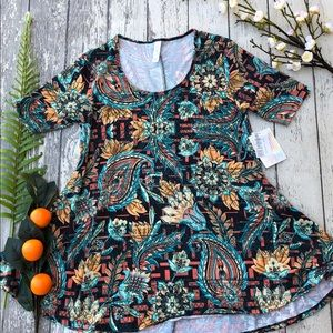 LuLaRoe Boho Floral Perfect T